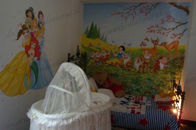Decorazioni d 39 interni camerette per bambini for Decorazioni per camerette