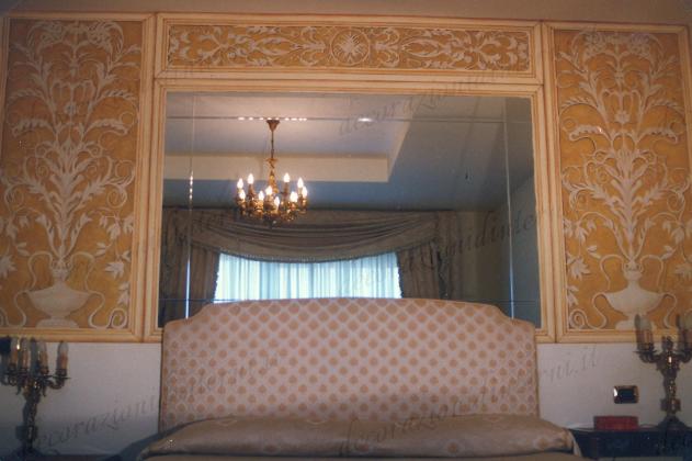 Decorazioni d 39 interni grisaille - Decorazioni d interni ...