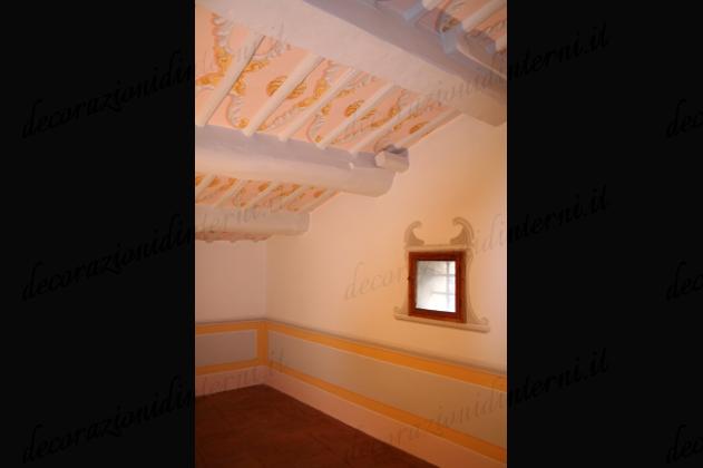 Decorazioni d 39 interni finti lambris e boiserie - Decorazioni d interni ...