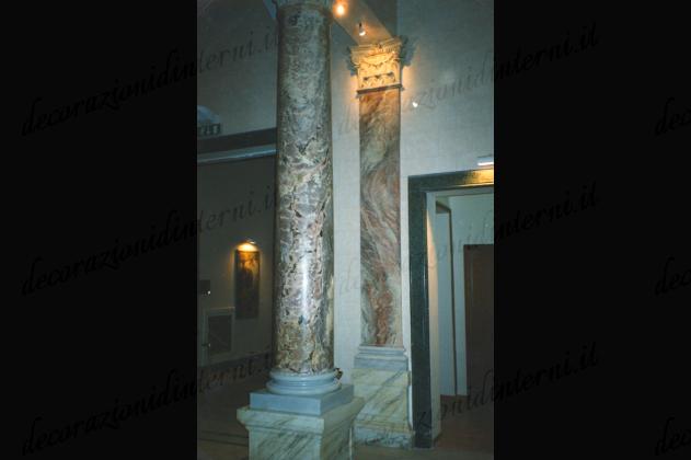 Decorazioni d 39 interni finti marmi e pietre - Decorazioni d interni ...