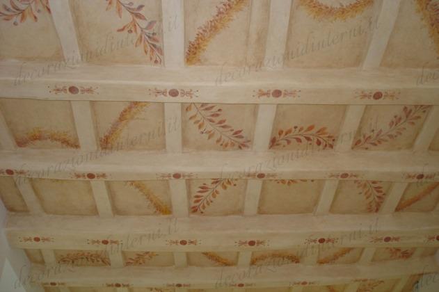 Decorazioni d 39 interni soffitti - Soffitti decorati ...