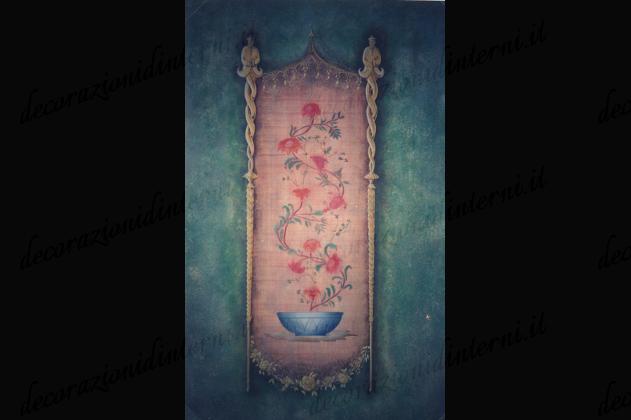 Decorazioni d 39 interni stencil - Decorazioni d interni ...