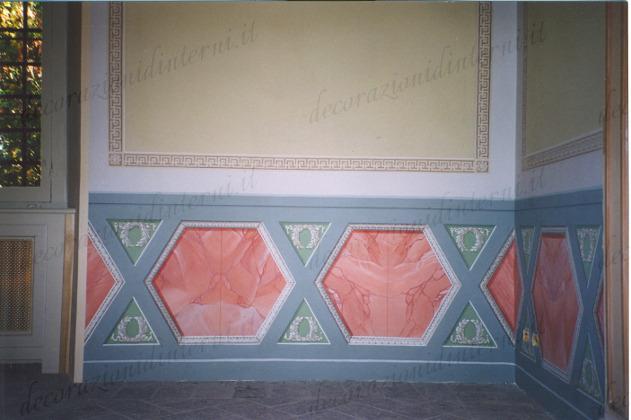 Decorazioni d 39 interni finti stucchi - Decorazioni d interni ...