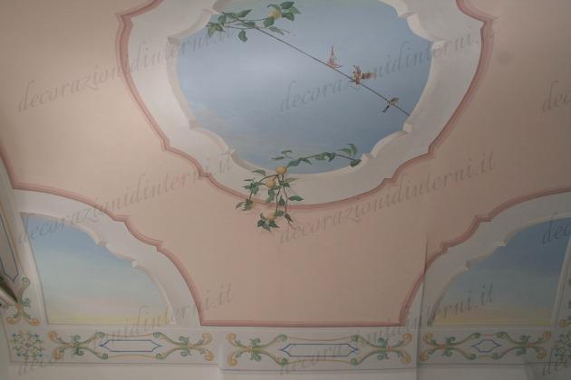 Decorazioni d 39 interni trompe l 39 oeil - Decorazioni d interni ...